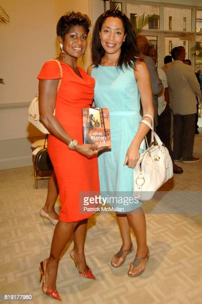 Jocelyn Taylor and Keija Minor attend Susan FalesHill's ONE FLIGHT UP Book Launch Party at 15 Central Park West on July 21st 2010 in New York City