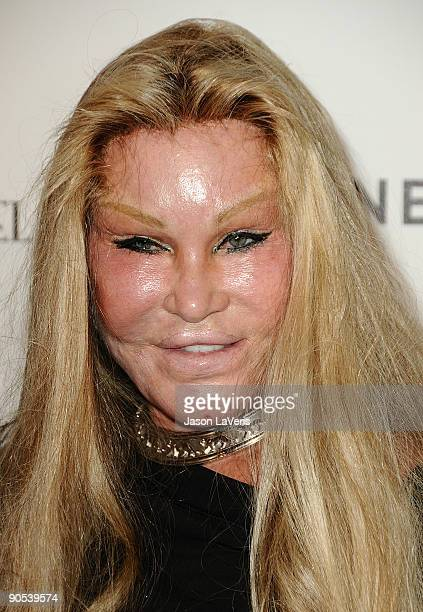 Jocelyn Wildenstein attends the after party for Coco Before Chanel at Chanel Boutique on September 9 2009 in Beverly Hills California