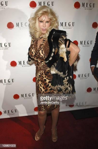 Jocelyn Wildenstein during Grand Opening of Megu Midtown at Trump World Towers at Megu Midtown at Trump World Towers in New York City New York United...