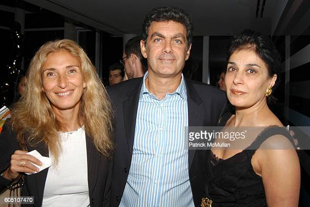 Jocelyne Attal Alex Attal and Mimi Fery attend LTB MEDIA Presents its Newest Publication CULTURE AND TRAVEL at The Louise T Blouin MacBain Residence...
