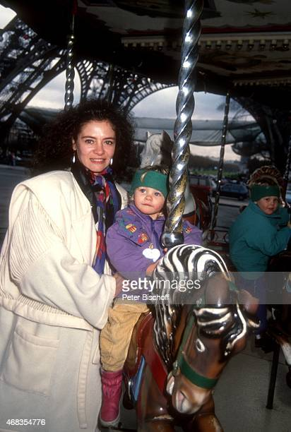 'Jocelyne Boisseau Tochter Alicia Endemann am in Paris Frankreich '