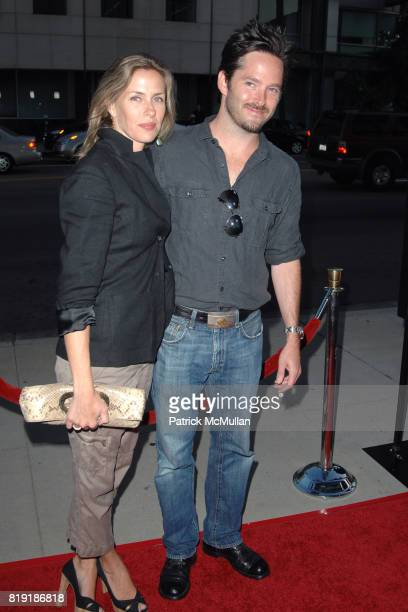 Jocelyne Cooper and Scott Cooper attend Los Angeles Premiere of GET LOW at Academy of Motion Picture Arts and Sciences on July 27 2010 in Beverly...