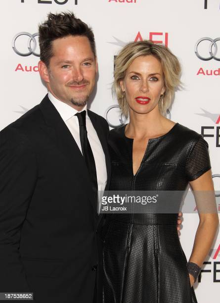 Jocelyne Cooper and Scott Cooper attend the AFI FEST 2013 Presented By Audi Out Of The Furnace Premiere held at TCL Chinese Theatre on November 9...