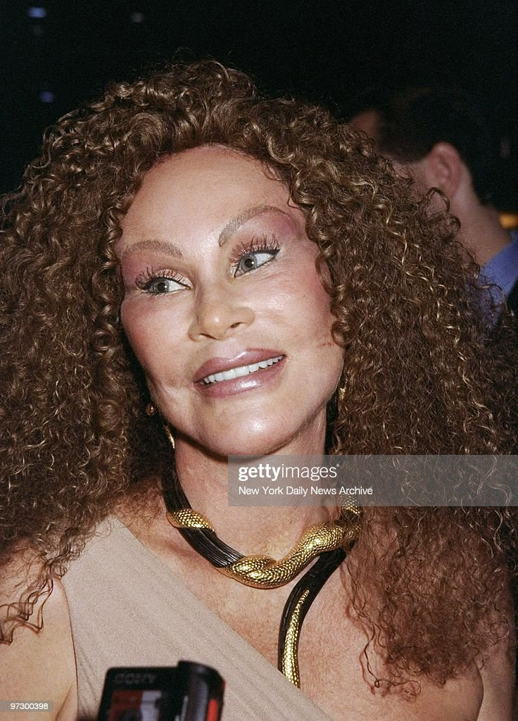 Jocelyne Wildenstein at the Life Club on Bleecker St. where  : News Photo
