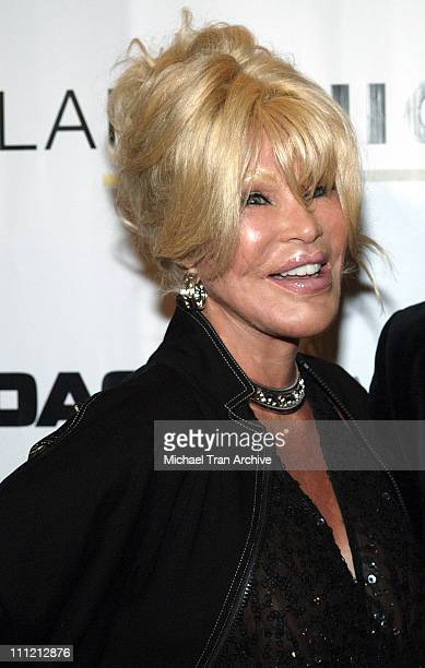 Jocelyne Wildenstein during 2005 LA Fashion Awards Arrivals at Orpheum Theatre in Los Angeles California United States