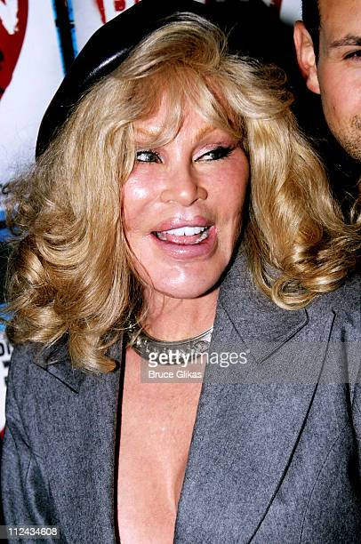Jocelyne Wildenstein during Brooklyn The Musical Opening at Plymouth Theatre in New York City New York United States