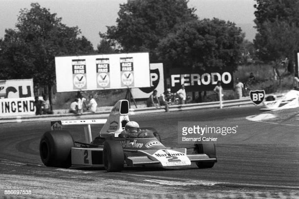 Jochen Mass McLarenFord M23 Grand Prix of France Circuit Paul Ricard 06 July 1975