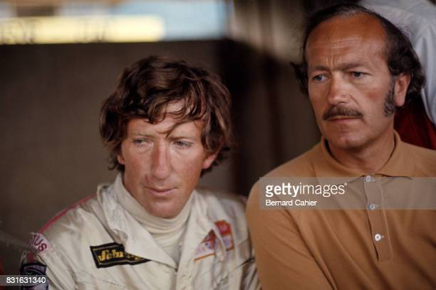 Jochen Rindt Colin Chapman Grand Prix of Italy Monza 06 September 1970 Jochen Rindt and Lotus designer and owner Colin Chapman on that fateful day...