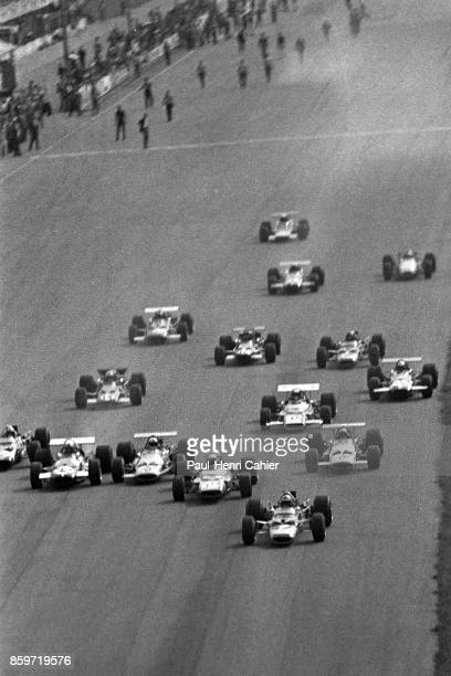Jochen Rindt Jackie Stewart Grand Prix of Italy Autodromo Nazionale Monza September 7 1969