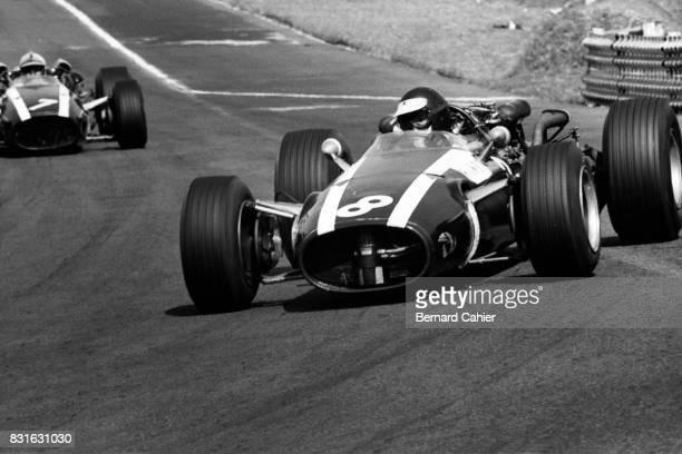 Jochen Rindt John Surtees CooperMaserai T81 Grand Prix of Mexico Autodromo Hermanos Rodriguez 23 October 1966