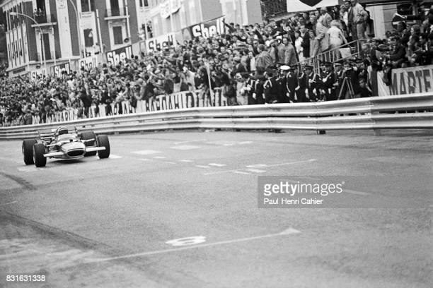 Jochen Rindt LotusFord 49B Grand Prix of Monaco Monaco 10 May 1970 Victory for Jochen Rindt