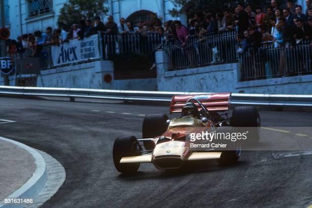 Jochen Rindt LotusFord 49B Grand Prix of Monaco Monaco 10 May 1970