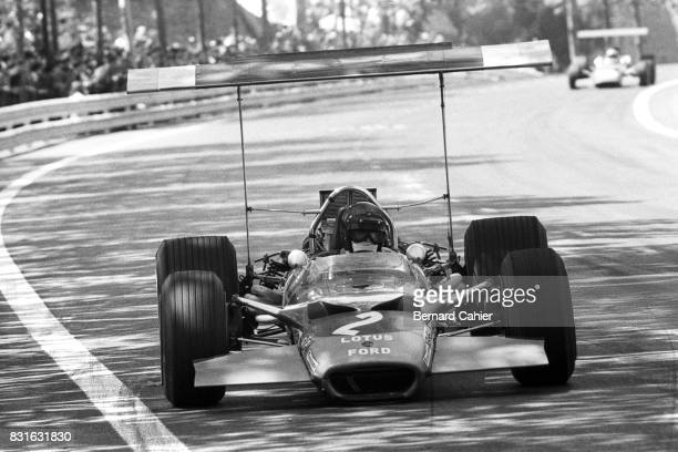 Jochen Rindt LotusFord 49B Grand Prix of Spain Montjuic 04 May 1969