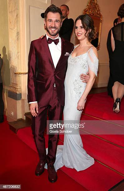 Jochen Schropp and Birthe Wolter during the Gala Spa Awards 2015 at Brenners ParkHotel Spa on March 21 2015 in BadenBaden Germany