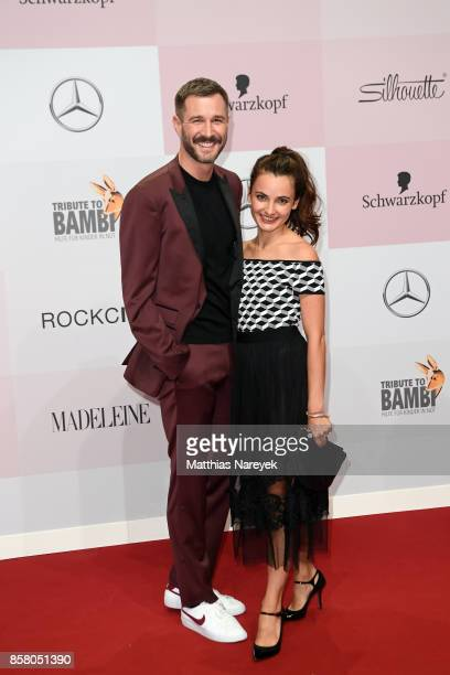 Jochen Schropp and Paula Schramm attend the Tribute To Bambi at Station on October 5 2017 in Berlin Germany