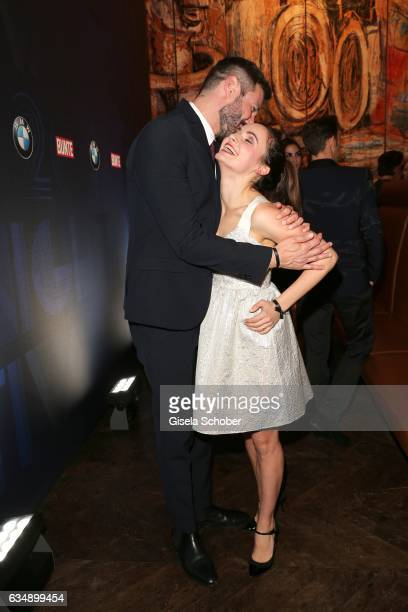 Jochen Schropp and Paula Schramm during the BUNTE BMW Festival Night 2017 during the 67th Berlinale International Film Festival Berlin at restaurant...