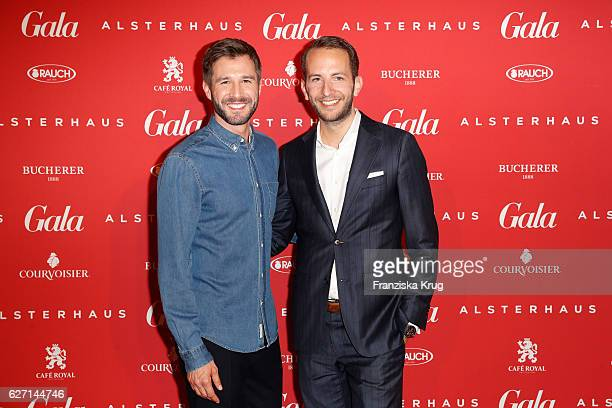 Jochen Schropp and Timo Weber attend the GALA Christmas Shopping Night 2016 at Alsterhaus on December 1 2016 in Hamburg Germany