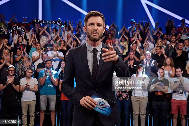 Jochen Schropp attends the first live show of Promi Big Brother 2015 at MMC studios on August 14 2015 in Cologne Germany