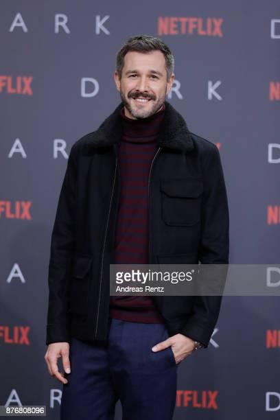 Jochen Schropp attends the premiere of the first German Netflix series 'Dark' at Zoo Palast on November 20 2017 in Berlin Germany