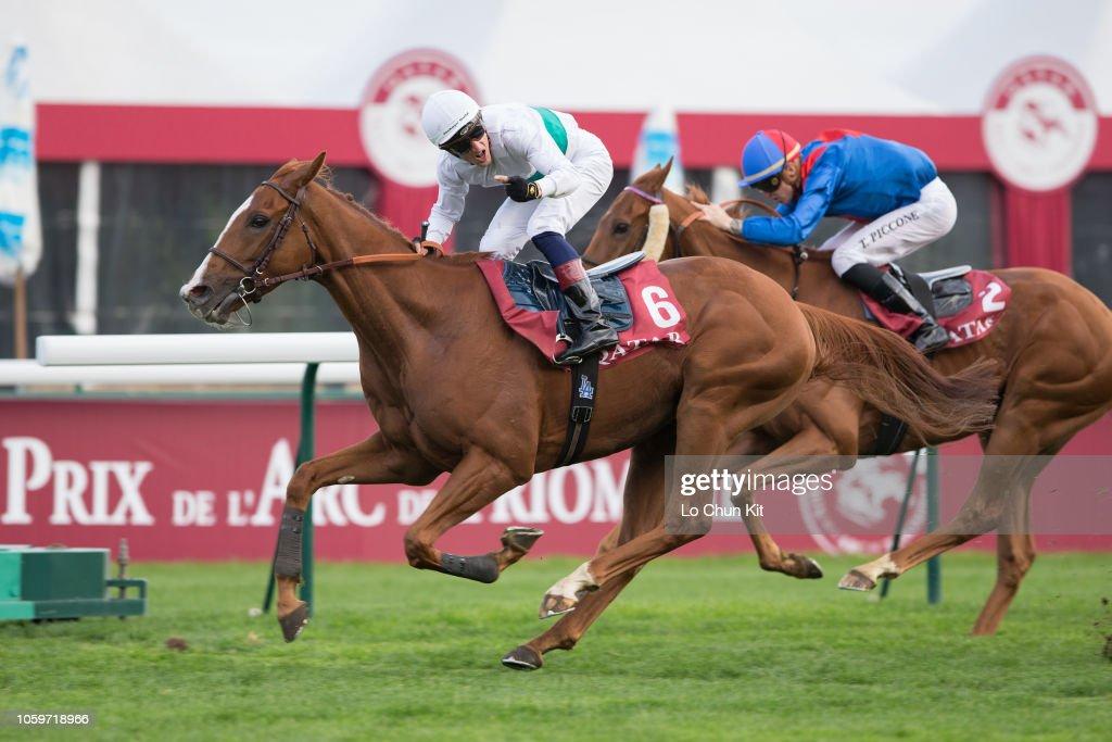 Prix de l'Arc de Triomphe weekend in ParisLongchamp Racecourse, France : News Photo