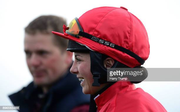 Jockey Bryony Frost at Exeter Racecourse on December 21 2017 in Exeter England