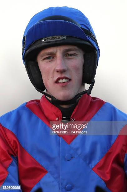 Jockey Ciaran Gethings at Ludlow Racecourse PRESS ASSOCIATION Photo Picture date Wednesday January 25 2017 Photo credit should read Nick Potts/PA Wire