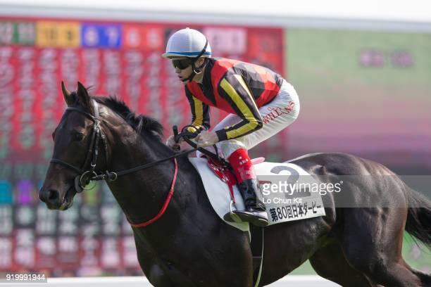 Jockey Craig Williams riding Codino during the Tokyo Yushun at Tokyo Racecourse on May 26 2013 in Tokyo Japan Tokyo Yushun Japanese Derby is the...