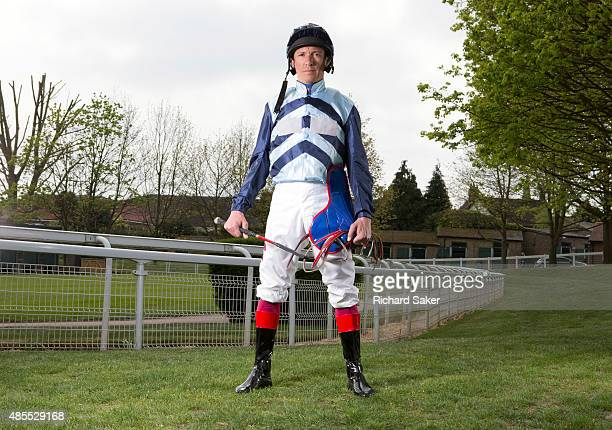 Jockey Frankie Dettori is photographed for the Observer on April 24 2015 in Epsom England