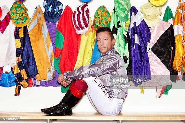 Jockey Frankie Dettori is photographed on January 17 2016 in Epsom England