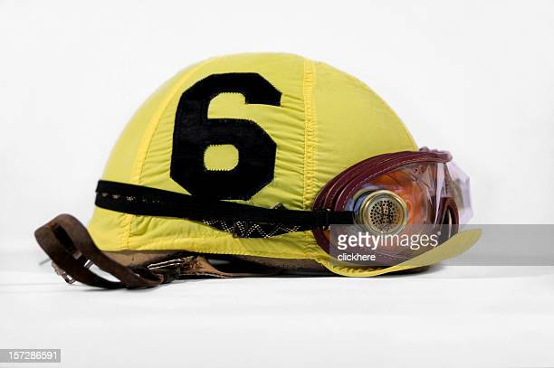 jockey helmet horse racing - sports helmet stock pictures, royalty-free photos & images