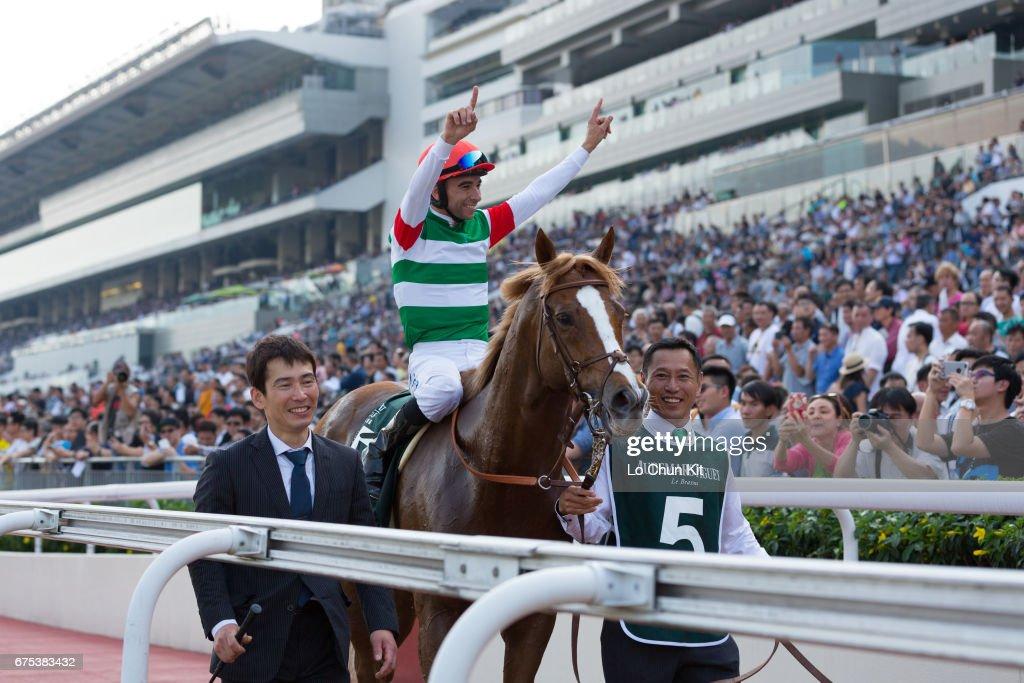 Jockey Joao Moreira Riding Japanese Horse Neorealism Wins