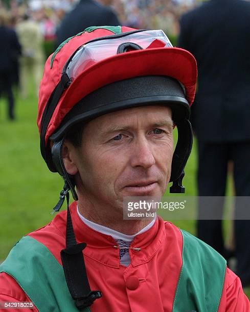 Jockey John Reid beim Horner Derby 2001