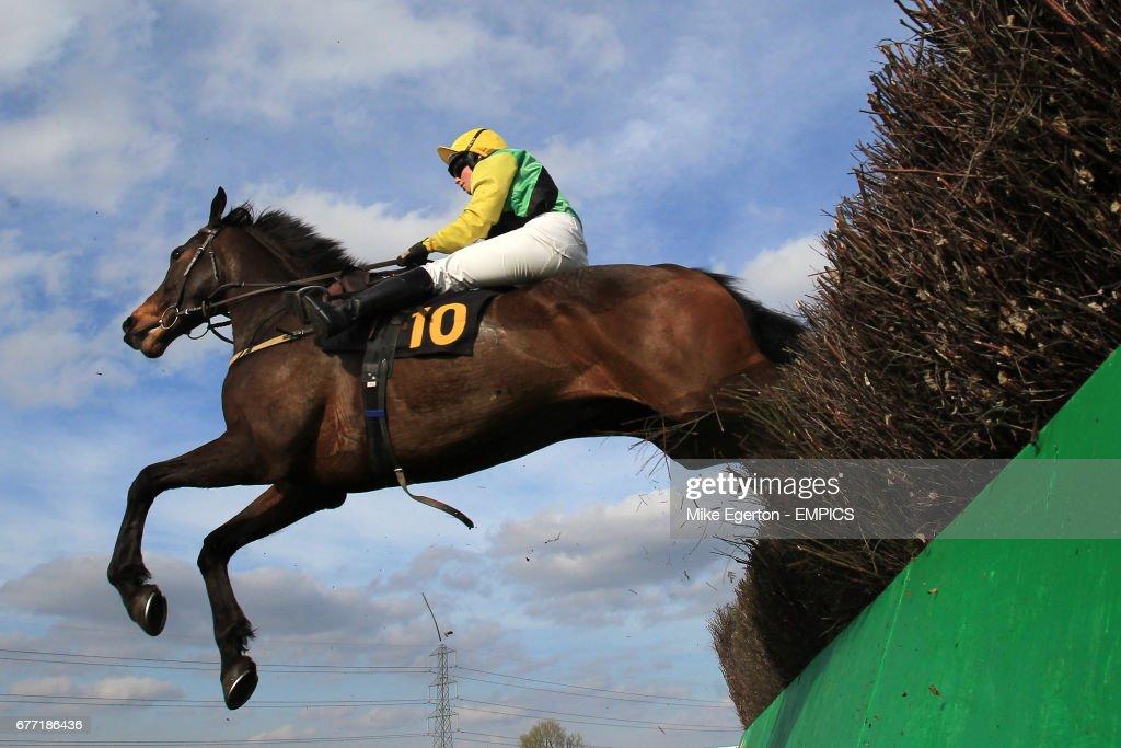 Jockey Miss Hannah Watson on Kilcascan jumps in the Betting Secrets