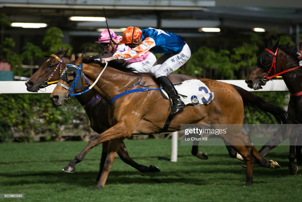 Horse Racing in Hong Kong - Happy Valley Racecourse : News Photo