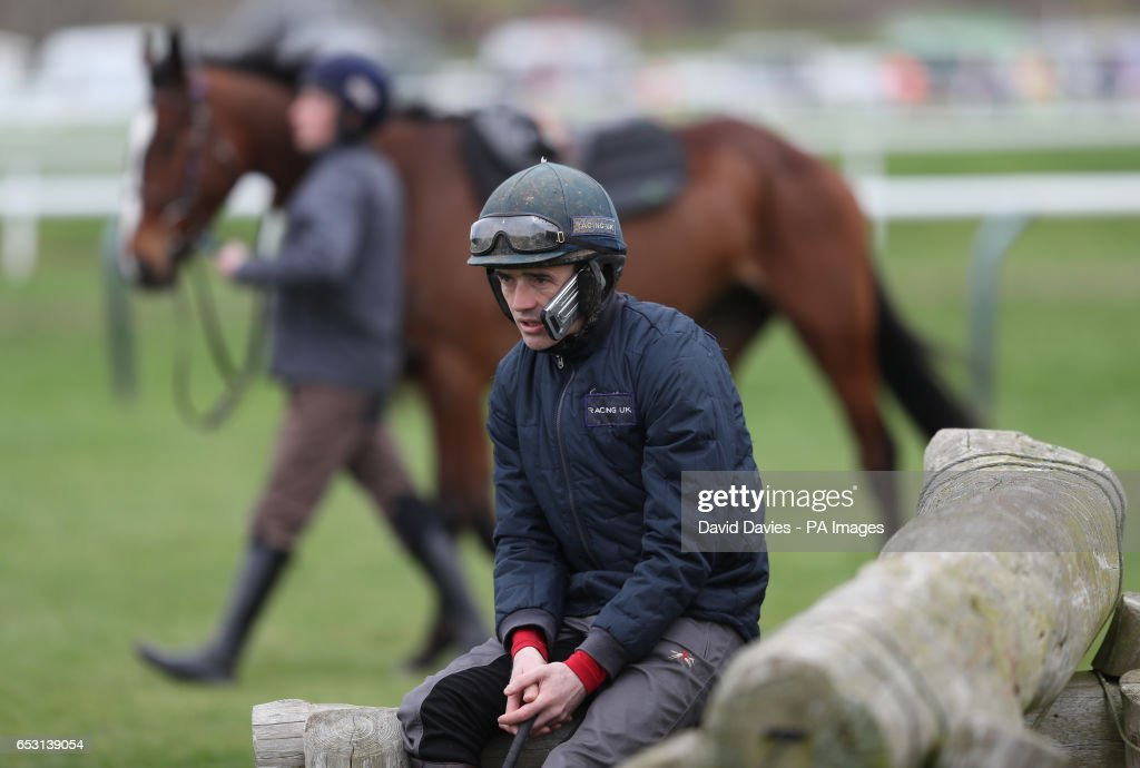 Jockey Ruby Walsh during Champion Day of the 2017 Cheltenham Festival at Cheltenham Racecourse.