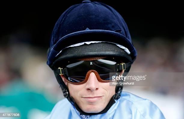 Jockey Ryan Moore during Royal Ascot 2015 at Ascot racecourse on June 20 2015 in Ascot England