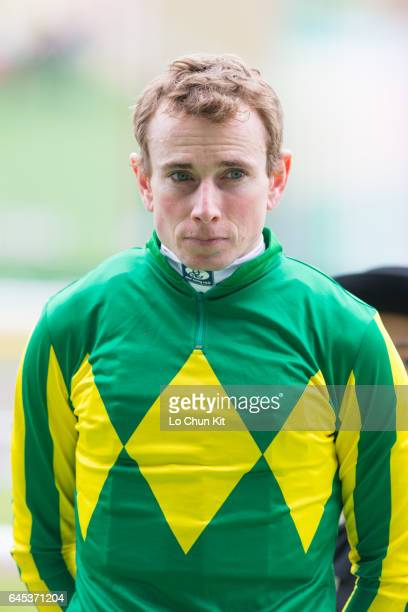 Jockey Ryan Moore wins the Race 7 Begonia Sho at Tokyo Racecourse on November 27 2016 in Tokyo Japan
