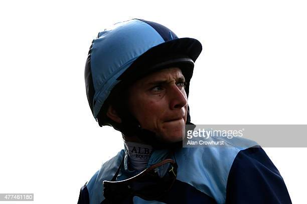 Jockey Ryan Moore wins The Royal Hunt Cup during Royal Ascot 2015 at Ascot racecourse on June 17 2015 in Ascot England