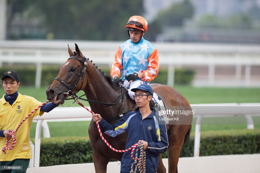 Horse Racing in Hong Kong - Sha Tin Racecourse : News Photo