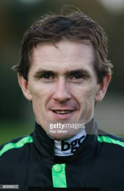 Jockey Tony McCoy looks on prior to a race at Fontwell Races on November 7 2008 in Arundel England