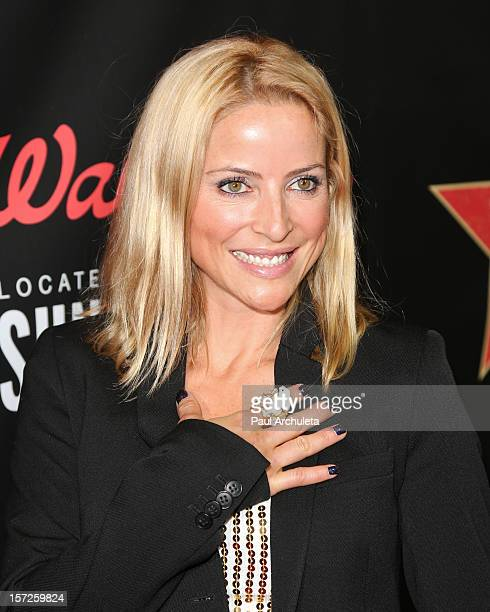 Jockey / TV Personality Chantal Sutherland attends the opening night of Walgreens' new flagship store in Los Angeles on November 30 2012 in Hollywood...