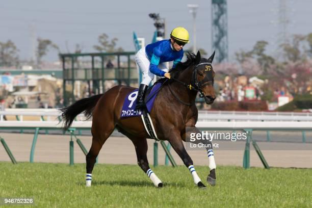 Jockey Yuga Kawada riding Fine Needle wins the Takamatsunomiya Kinen at Chukyo Racecourse on March 25 2018 in Toyoake Aichi Prefecture Japan Owner...