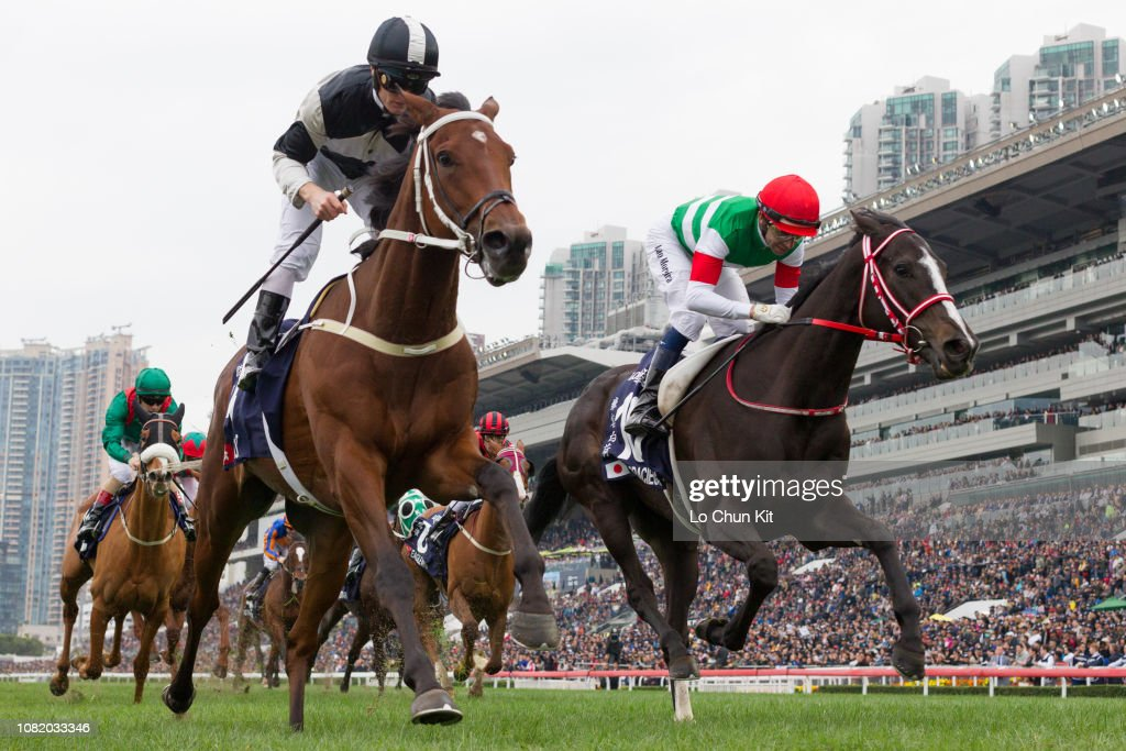 Exultant wins Longines Hong Kong Vase (G1 2400m) : News Photo