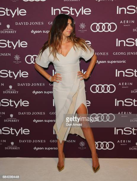 Jodhi Meares arrives ahead of the Women of Style Awards at The Star on May 17 2017 in Sydney Australia