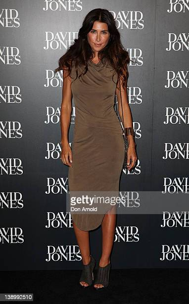 Jodhi Meares arrives at the David Jones Autumn/Winter 2012 season launch at the David Jones Elizabeth Street Store on February 15 2012 in Sydney...