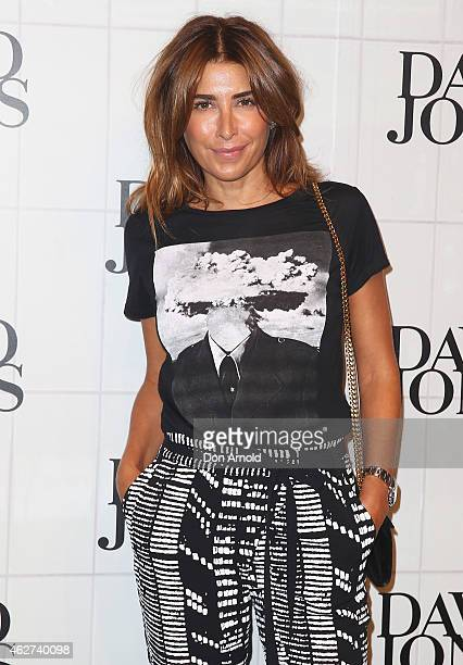 Jodhi Meares arrives at the David Jones Autumn/Winter 2015 Collection Launch at David Jones Elizabeth Street Store on February 4 2015 in Sydney...