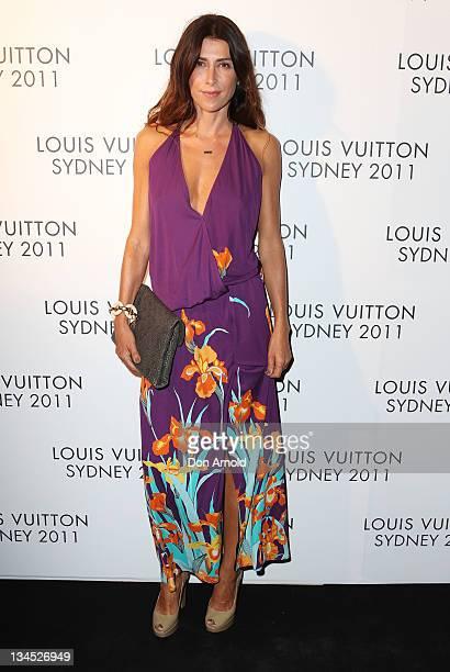 Jodhi Meares arrives at the Louis Vuitton Maison reception on December 2 2011 in Sydney Australia