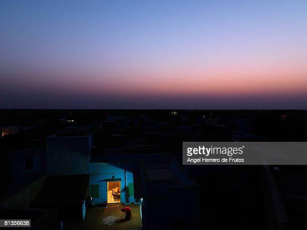 Jodhpur at dawn, India 2088.