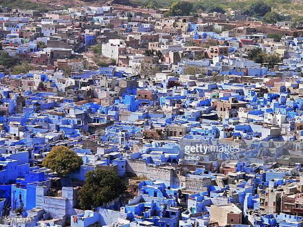 ジョードプルブルーの街、インド・ラージャスターン州)Mehrangarh 砦からの眺め