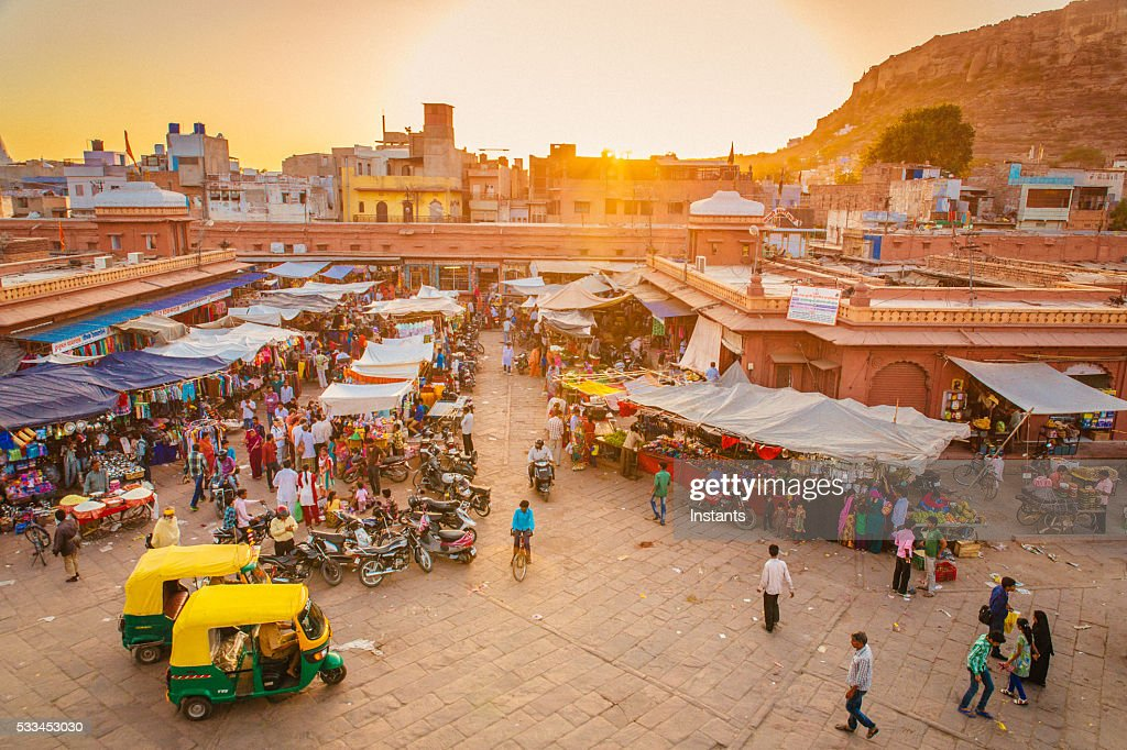 Jodhpur Market : Stock Photo